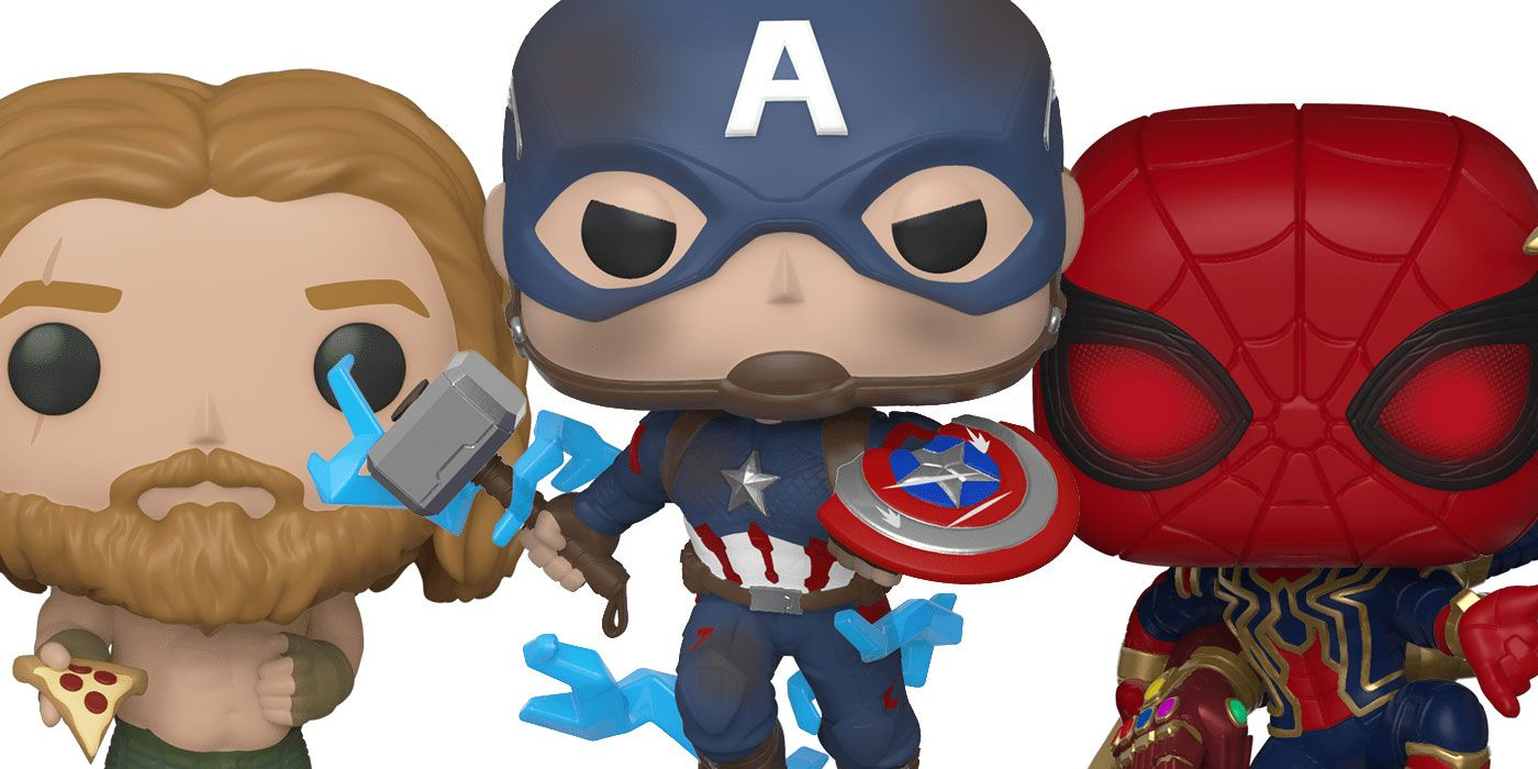 Avengers Endgame S New Wave Of Funkos Includes Cap With