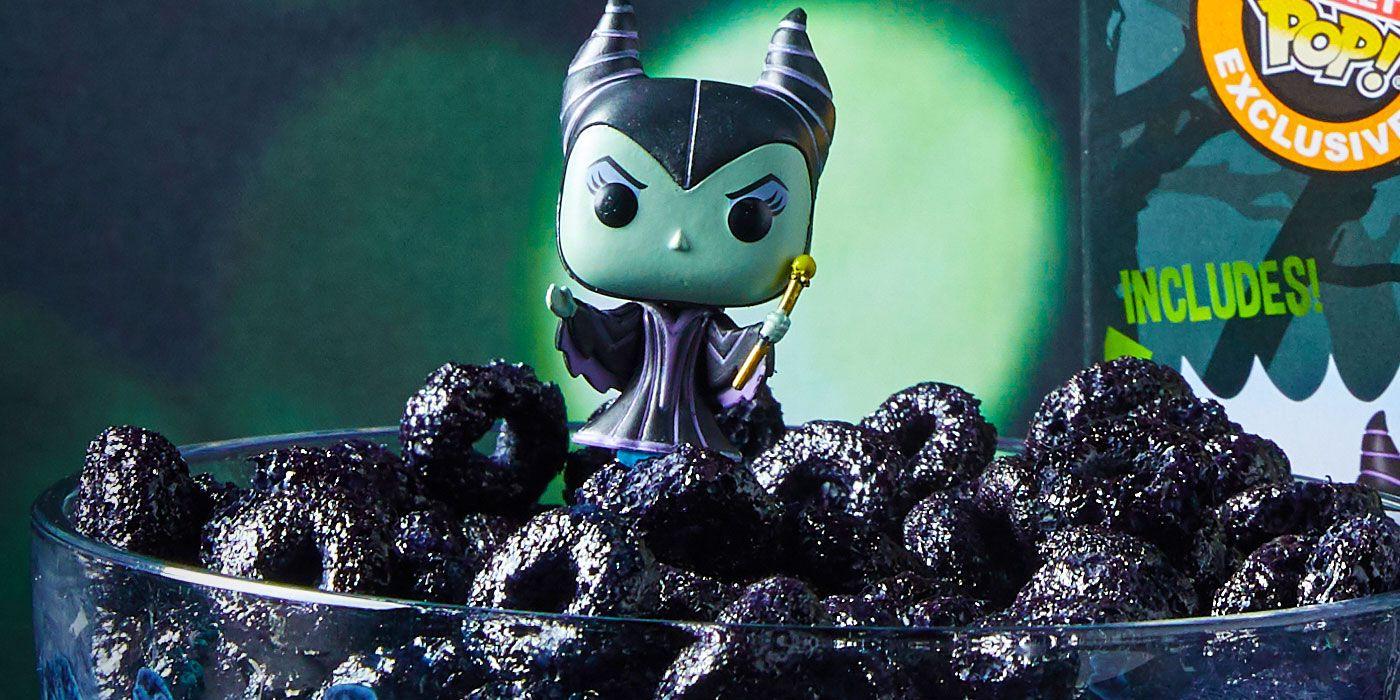 Funko's Pop!s Release Disney Villain Themed Cereal for Halloween