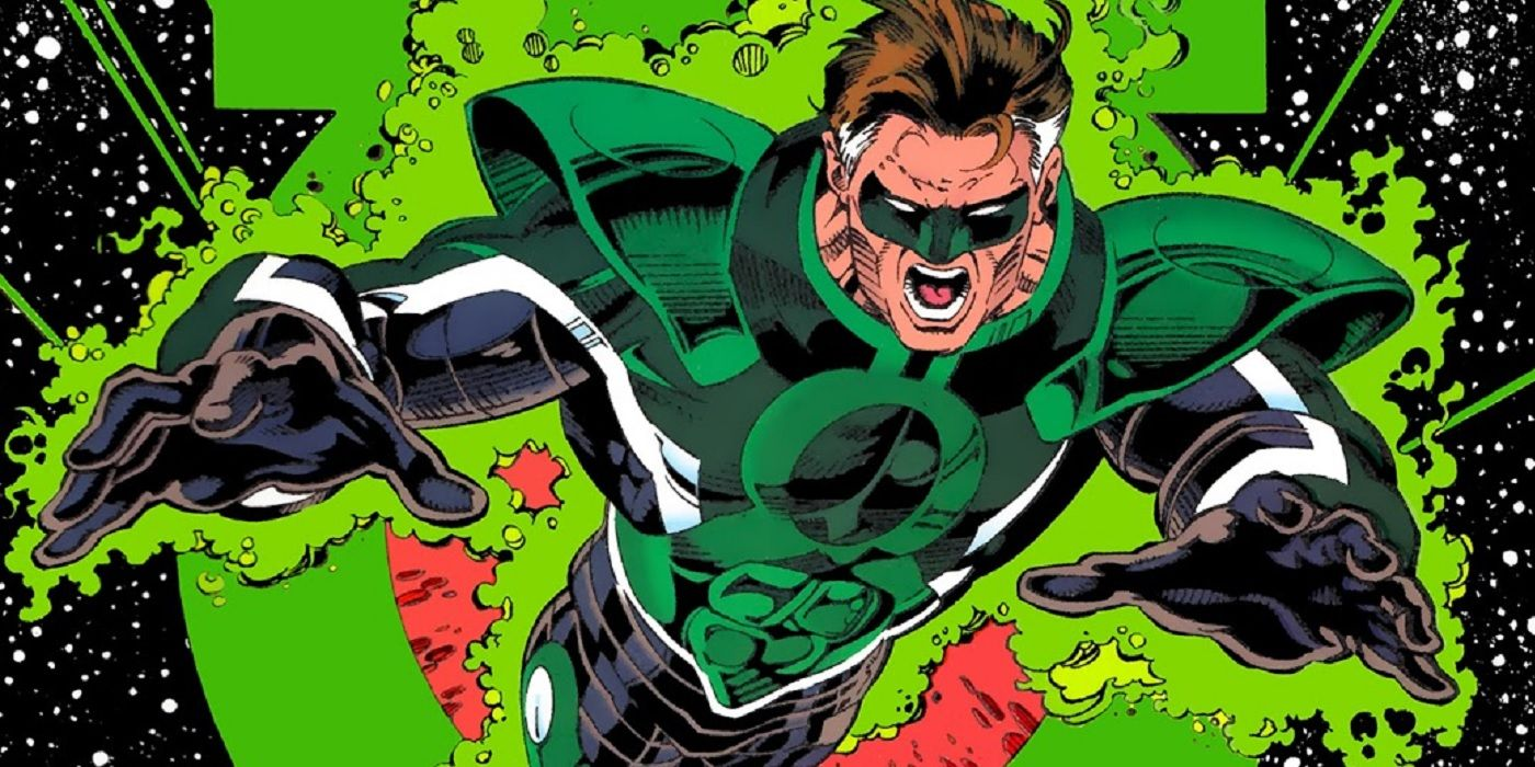 What Was The Reasoning Behind Hal Jordan Taking the Name Parallax?