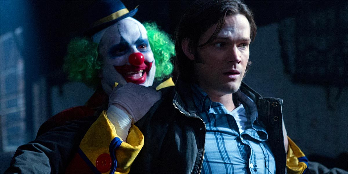 Supernatural: The Clown Is Back in Town in the Final Season | CBR