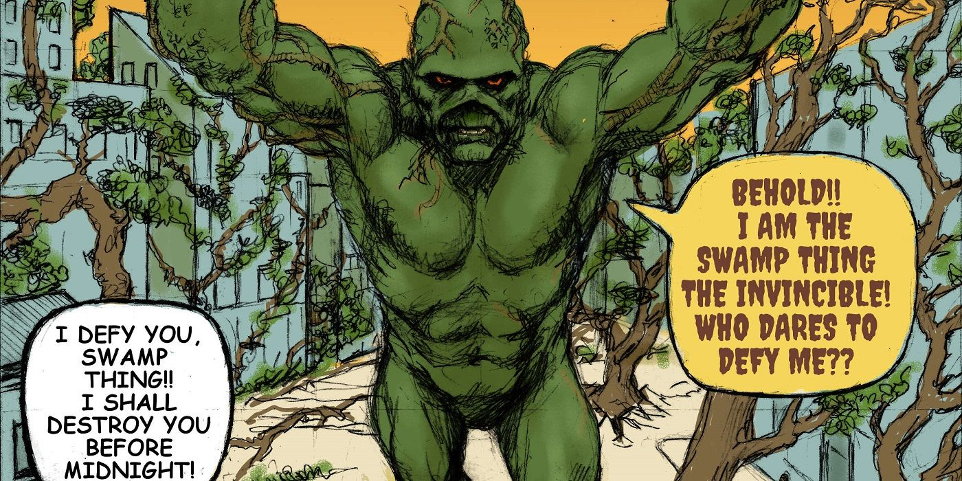 What If Swamp Thing and Groot Swapped Their Debut Covers? | CBR