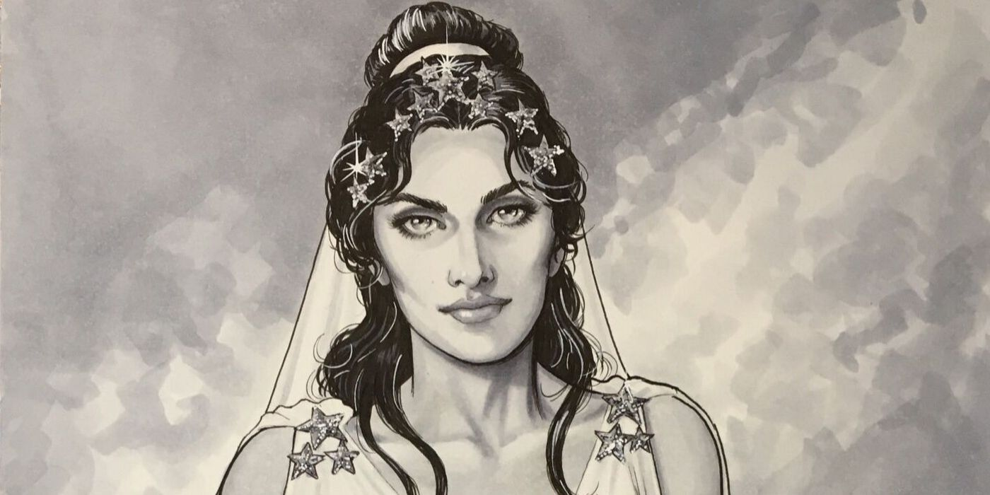 Wonder Woman: Diana Dons a Wedding Dress in New Nicola Scott Art