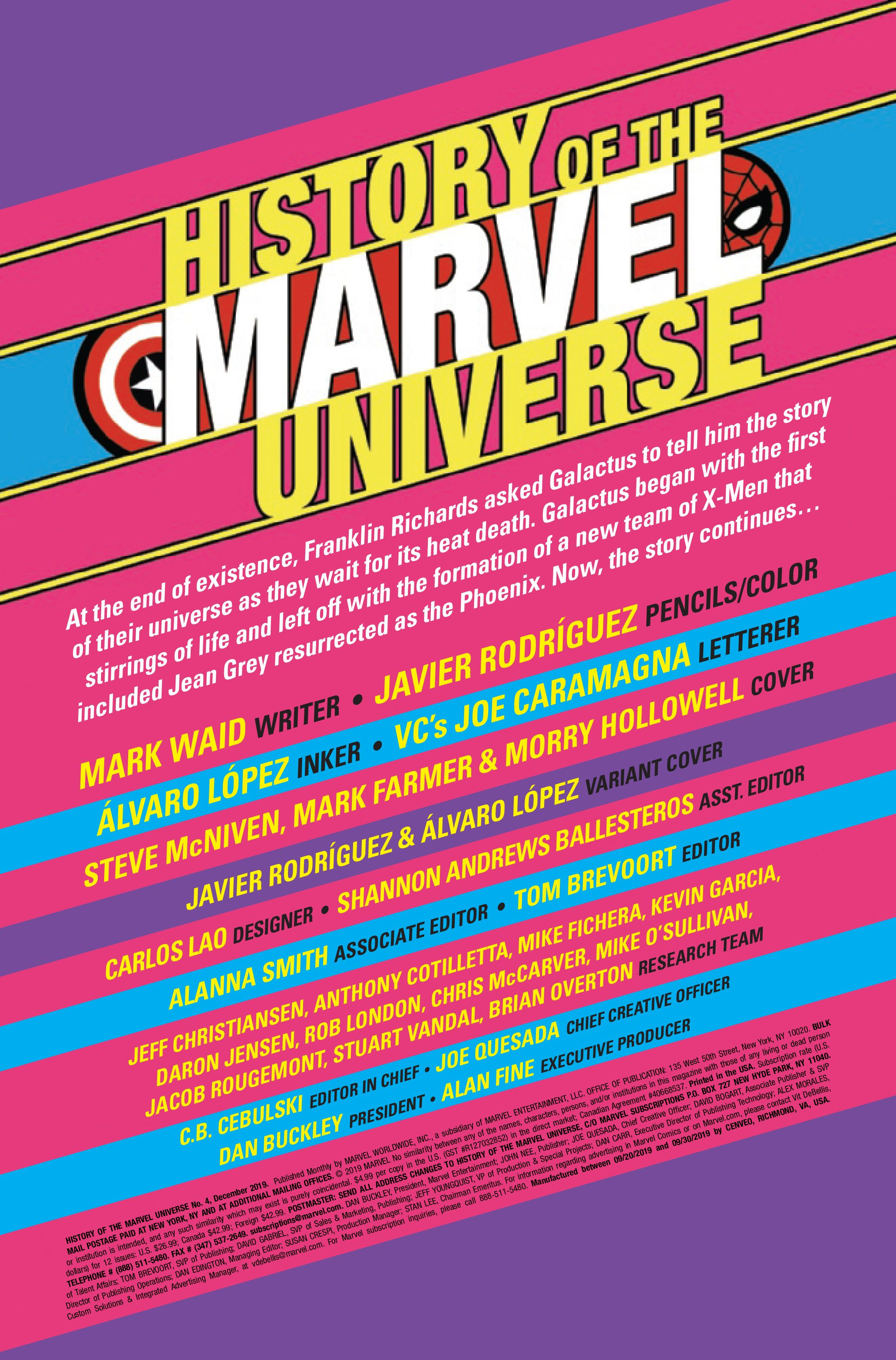 PREVIEW: History of the Marvel Universe #4 | CBR