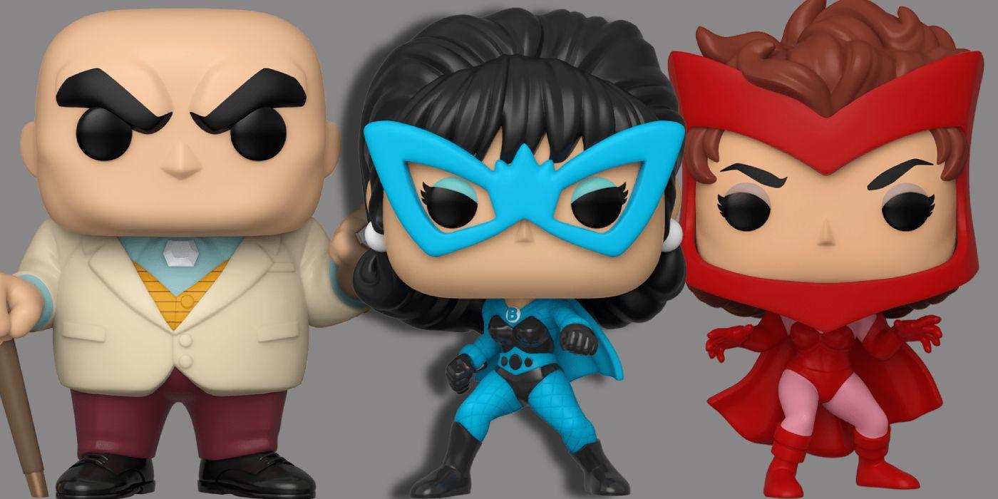 Funko Reveals 'First Appearance' Pop!s for Black Widow, Kingpin & Deadpool