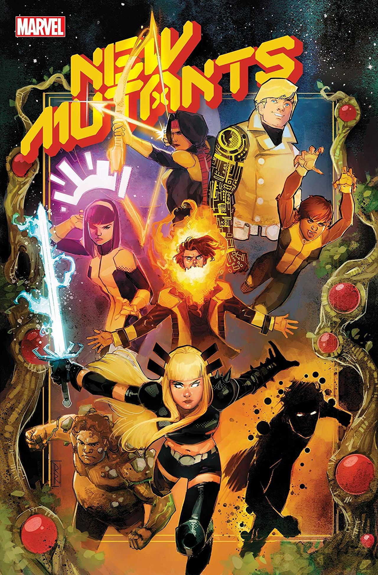 REVIEW: New Mutants #1 Brings Swashbuckling, Spacefaring Levity to Dawn of X