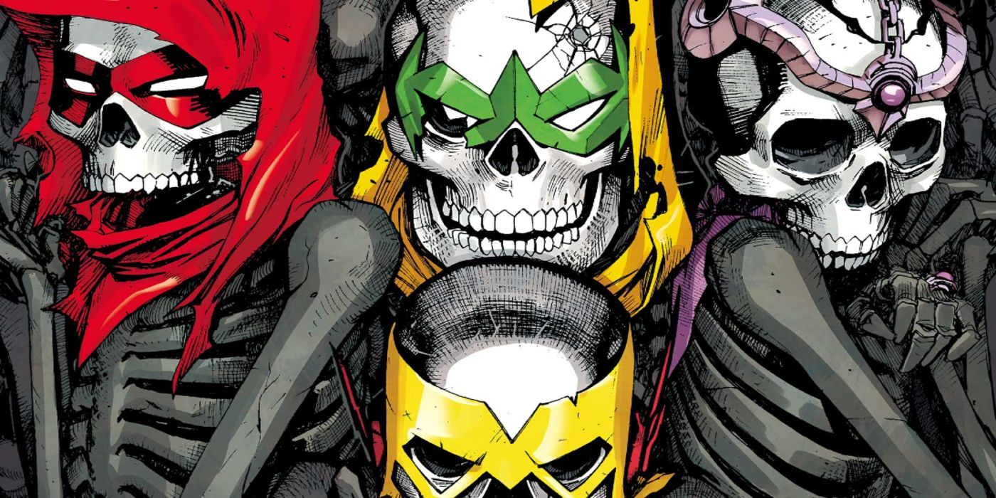 The Teen Titans Traitor Reveals His Origin and Dooms a Titan Forever