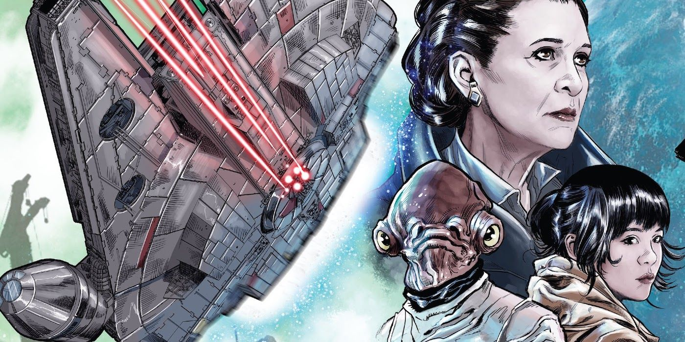 Star Wars: The Millennium Falcon Finally Gets the Perfect New Captain
