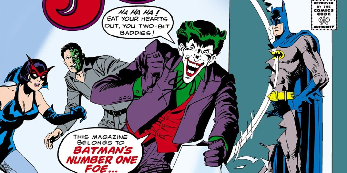 How Did the Comics Code Kill the Joker's Ongoing Series? | CBR