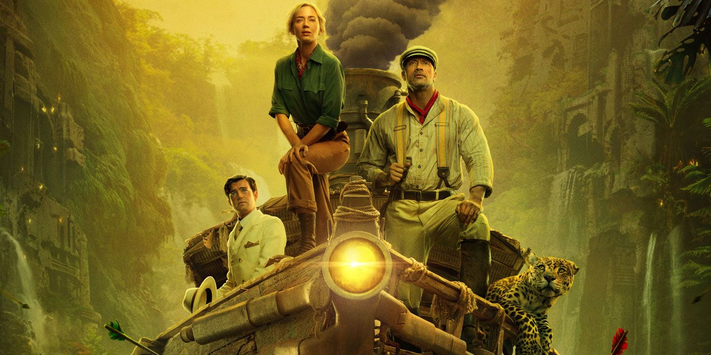 Disney's Jungle Cruise Trailer Teams the Rock with a Female Indiana Jones