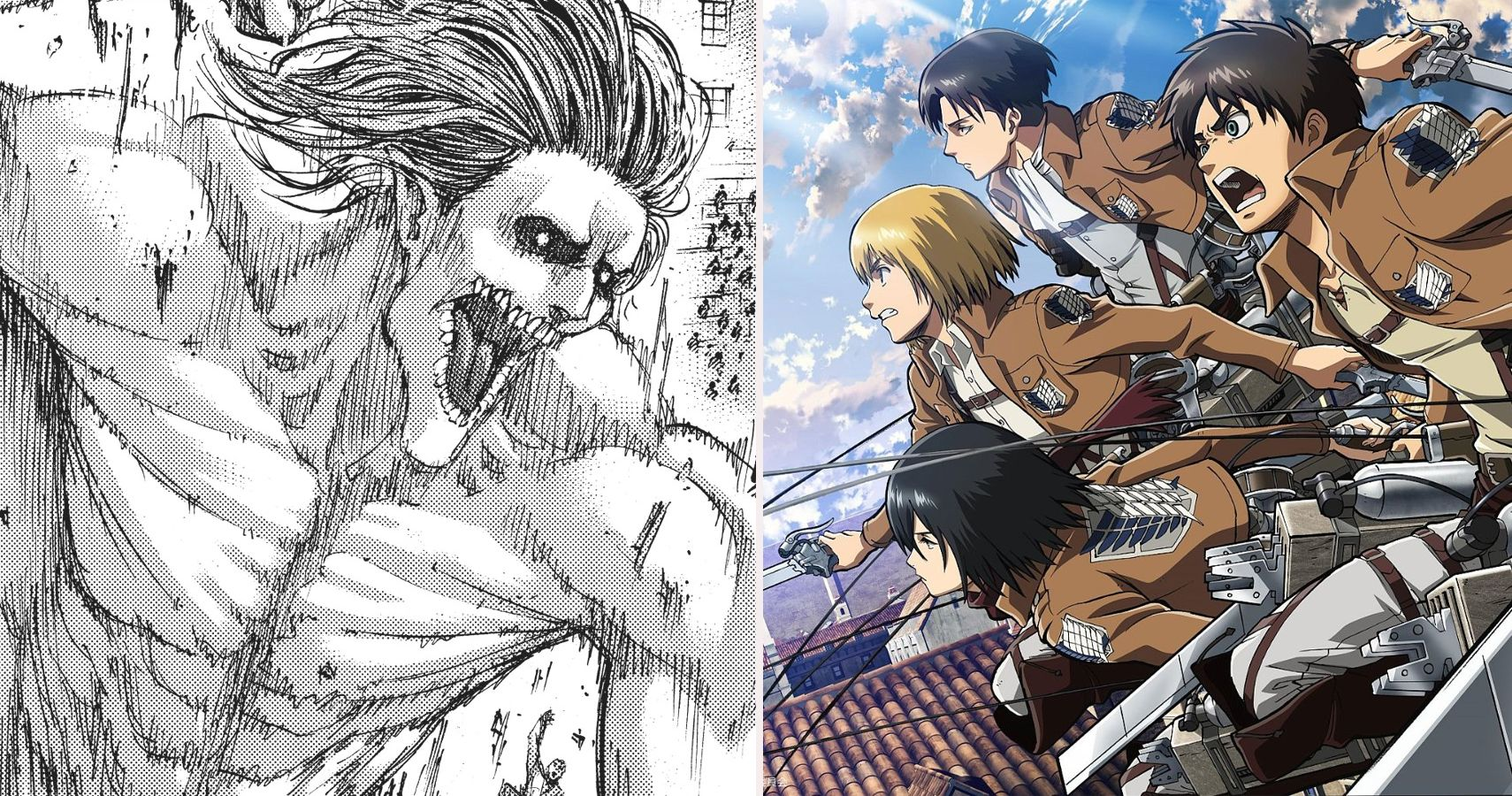 Attack On Titan 10 Things From The Manga We Can T Wait To See In The Anime