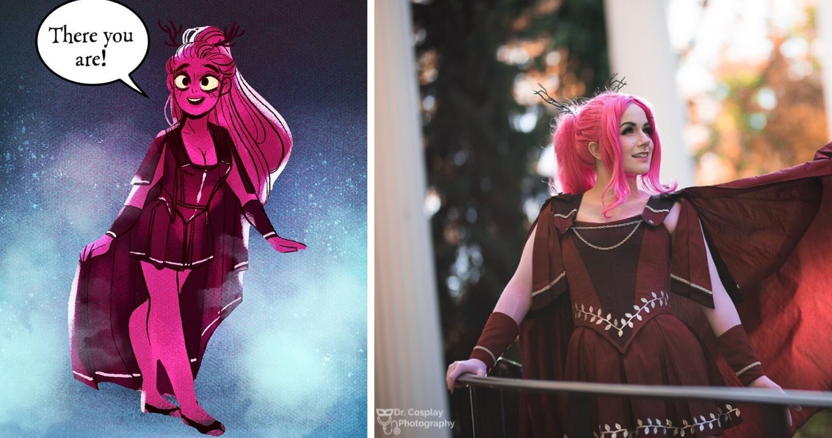 Lore Olympus 10 Cosplays Fit For The Gods Cbr