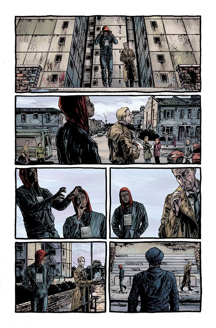 DC Comics Hellblazer John Constantine