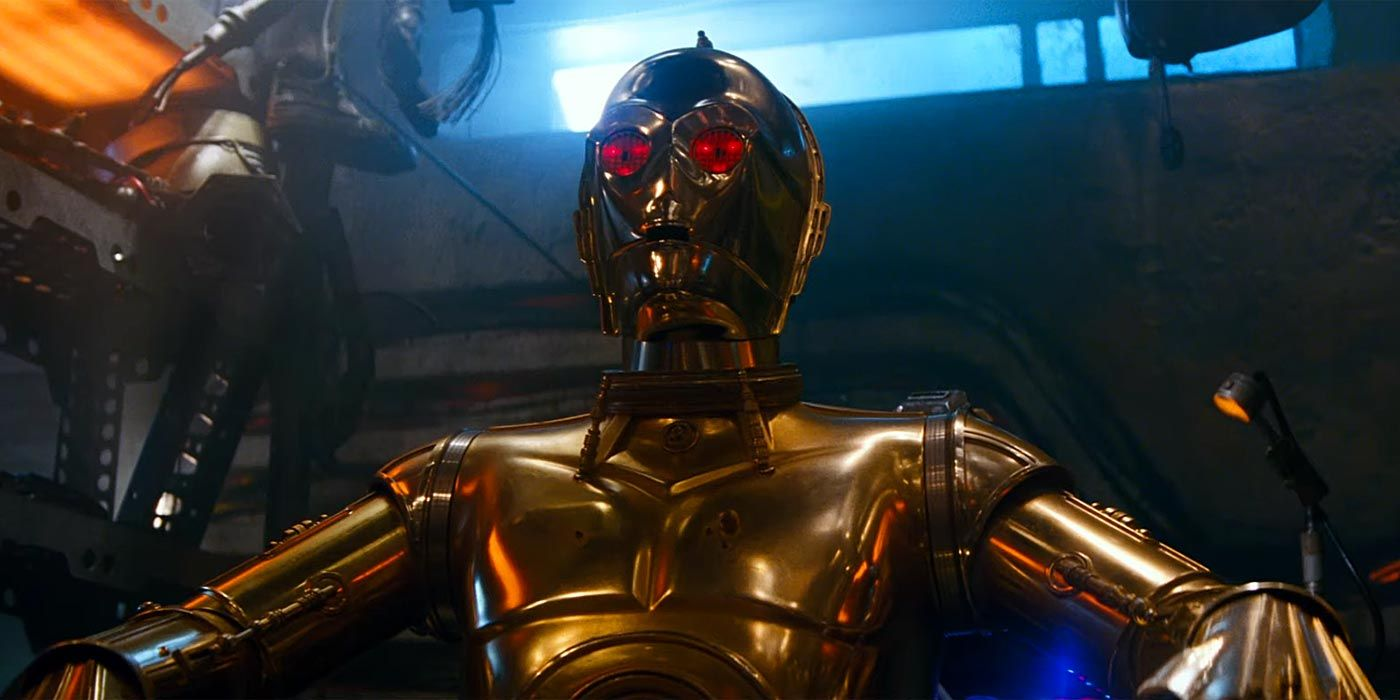 The Rise of Skywalker: So THAT'S Why Threepio's Eyes Turn Red