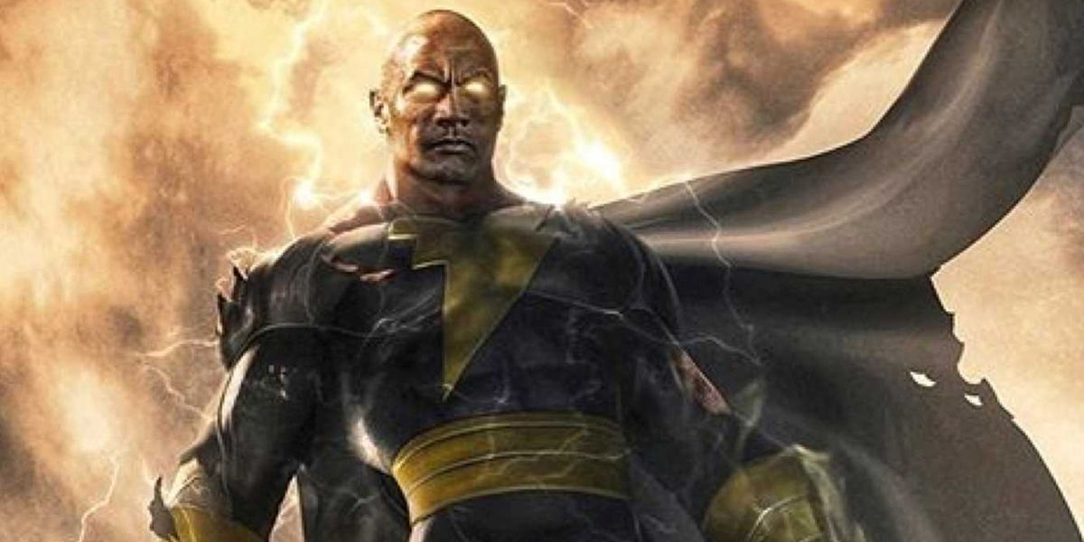 Black Adam: Dwayne Johnson Teases Film's Logo, Concept Art Ahead ...