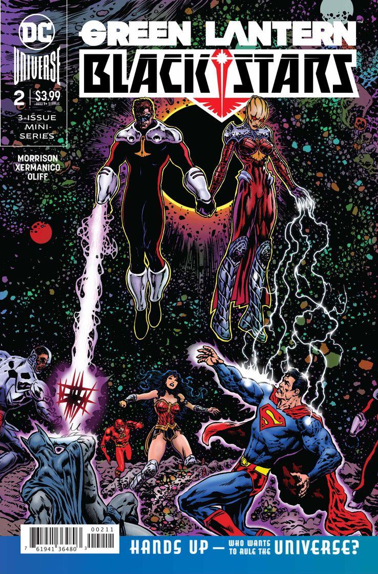 DC Comics Green Lantern Blackstars Hal Jordan