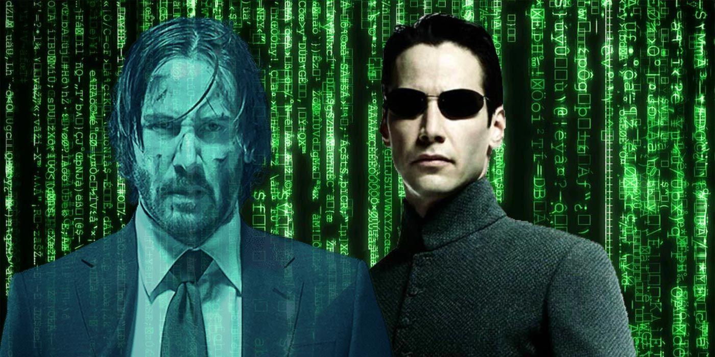 The Matrix 4 Vs. John Wick 4: Which Will Blink First? | CBR