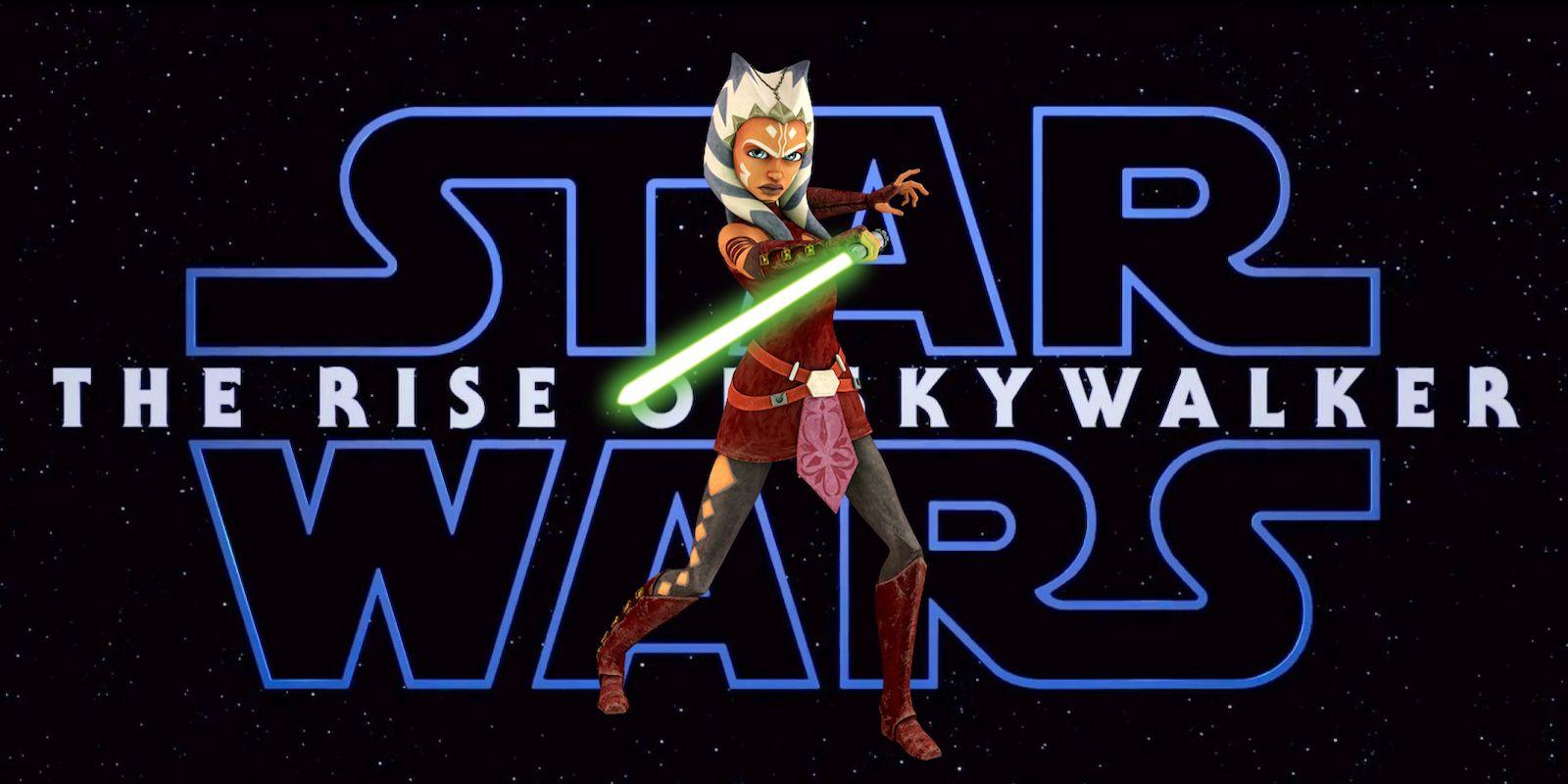 Rise of Skywalker: J.J. Abrams Teases Ahsoka Tano Cameo   CBR