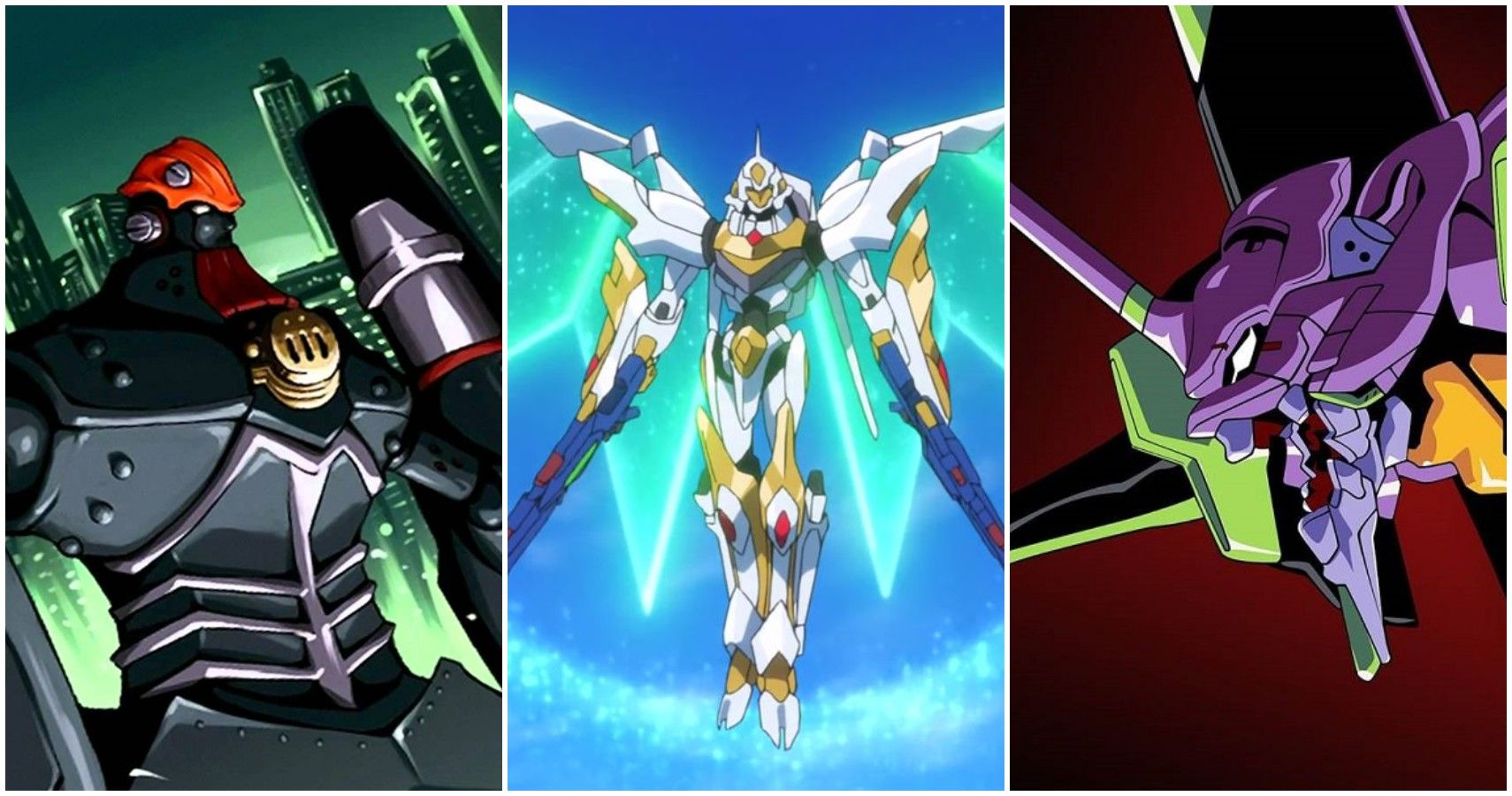 The 10 Most Badass Anime Mechs From Shows That Aren T Connected To The Gundam Franchise