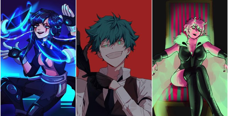 My Hero Academia Class 1 A Students Reimagined As Villains