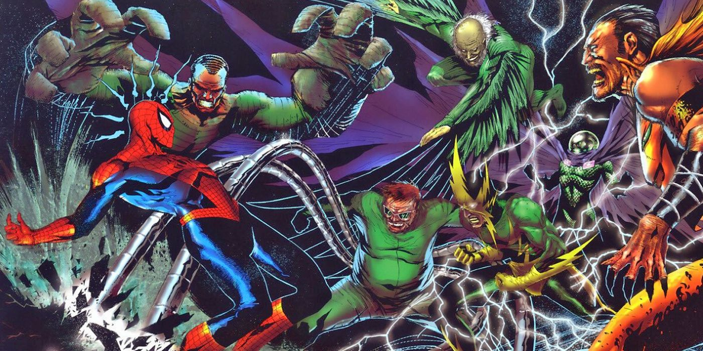The Sinister Six vs. Spider-Man