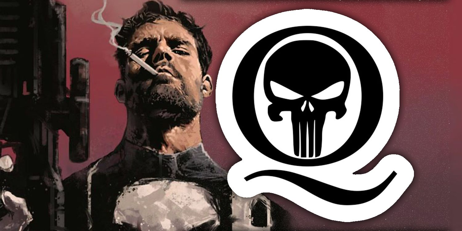 Punisher S Skull Icon Is Being Used On Qanon Recruitment Flyers