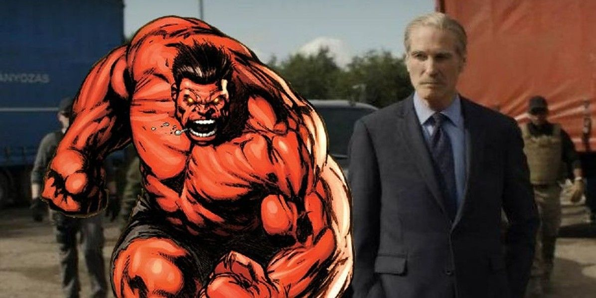 REPORT: Red Hulk Will Make MCU Debut In She-Hulk Disney+ Series