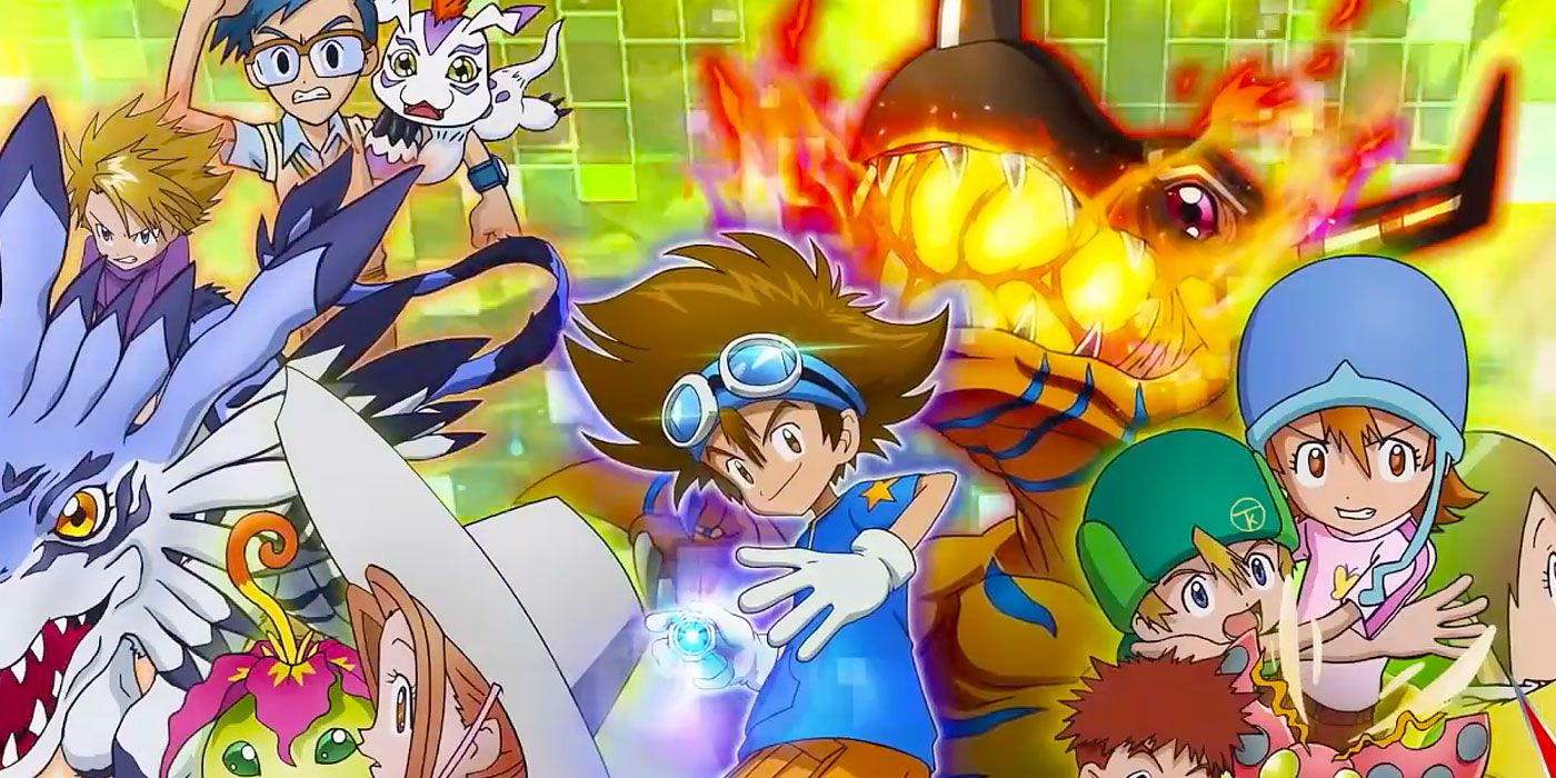 Toei's 2020 Digimon Reboot Releases Its First Teaser | CBR