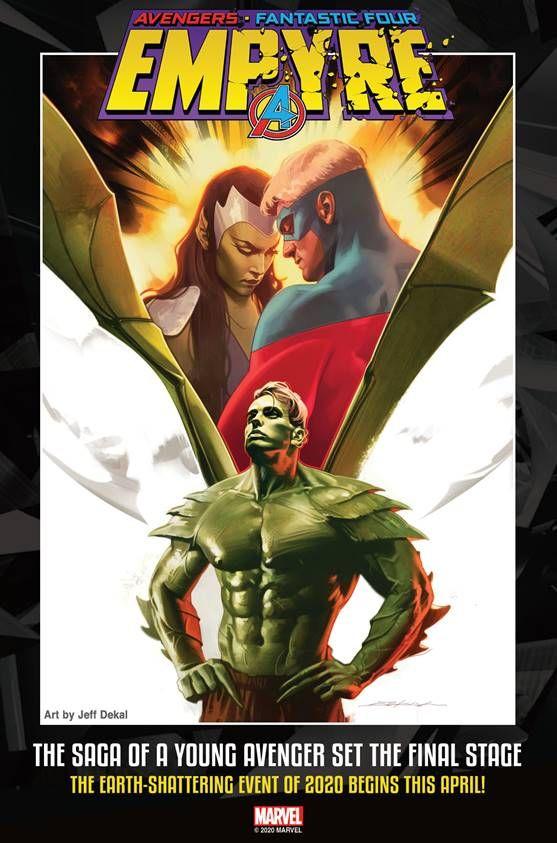 Marvel Empyre Hulkling Kree Skrull Avengers