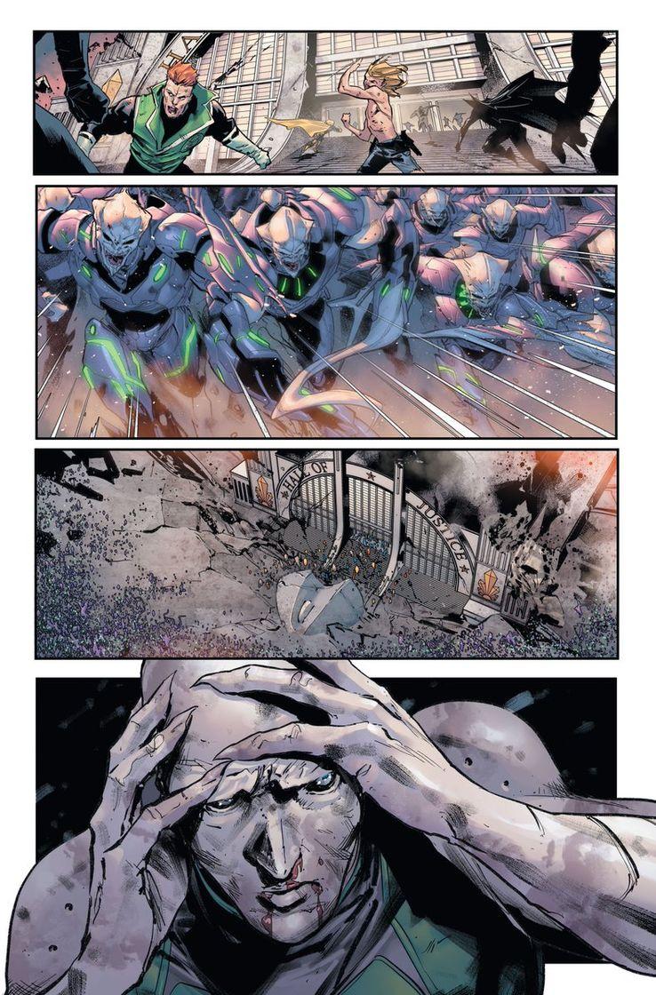 DC Comics Justice League Scott Snyder Jorge Jimenez