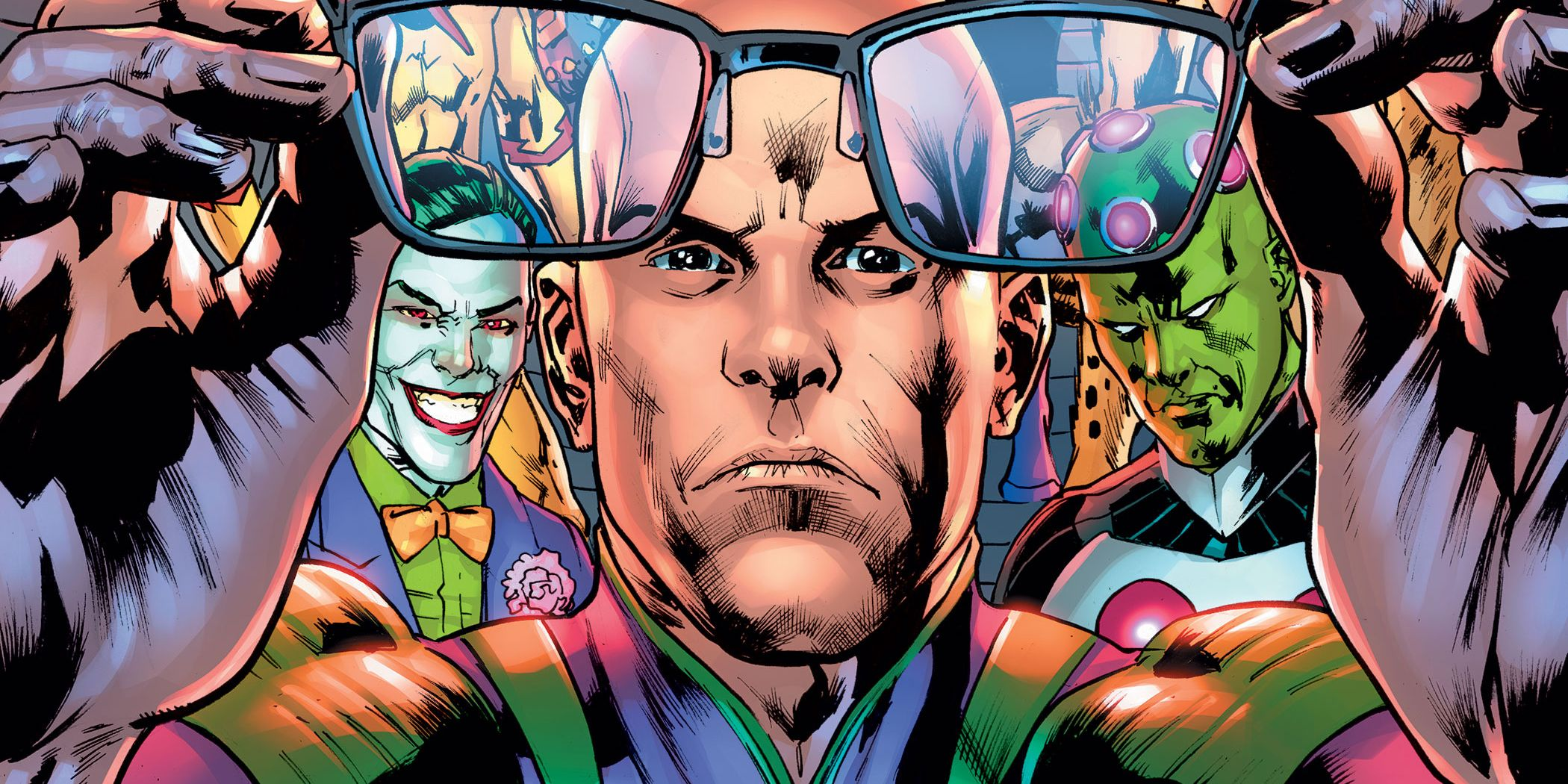 Lex Luthor Reacts to Superman's Identity Reveal in Villains First Look