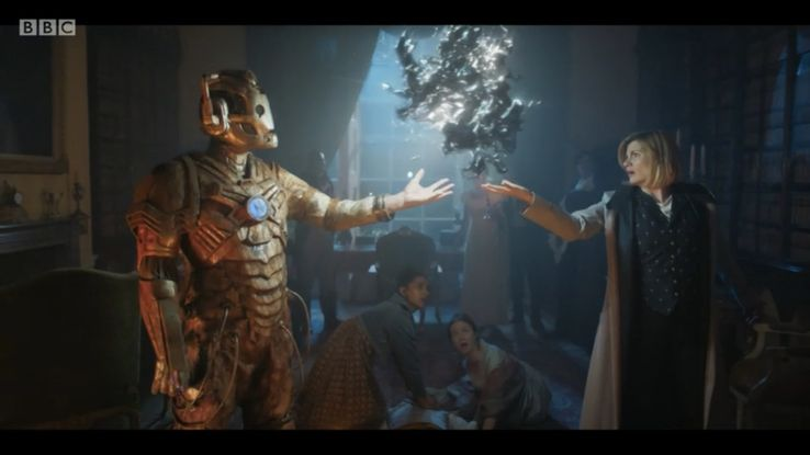 Image result for doctor who lone cyberman