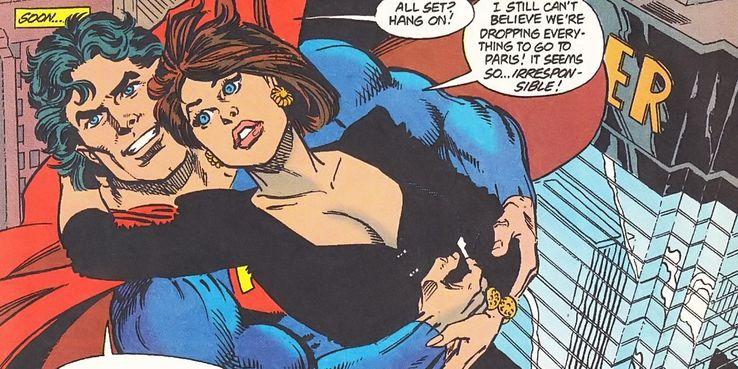 SUPERMAN AND LOIS Paris - Los 10 momentos más románticos entre Superman y Lois Lane