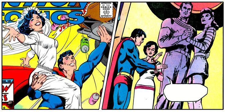 SUPERMAN AND LOIS Superman Takes A Wife - Los 10 momentos más románticos entre Superman y Lois Lane