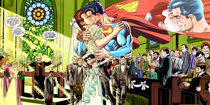 SUPERMAN AND LOIS The Wedding - Los 10 momentos más románticos entre Superman y Lois Lane