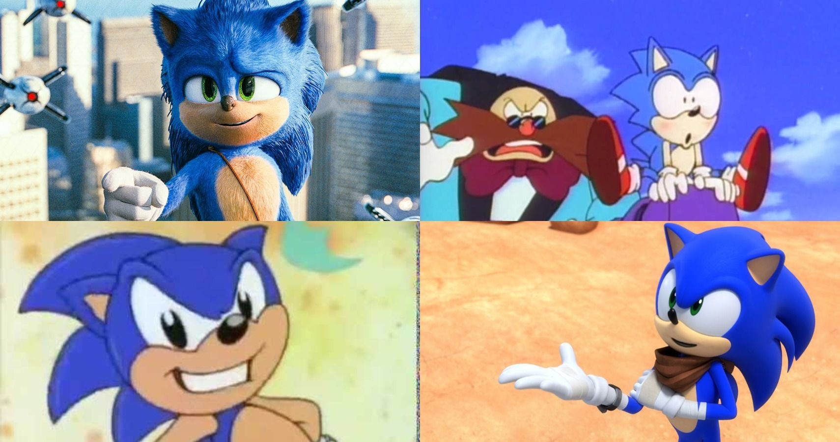 Ranking Every Sonic The Hedgehog Movie Tv Show Iteration Cbr