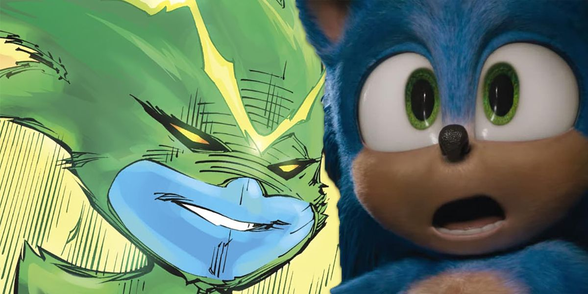 A Green Lantern in DC Comics Looks Quite a Bit Like Sonic | CBR