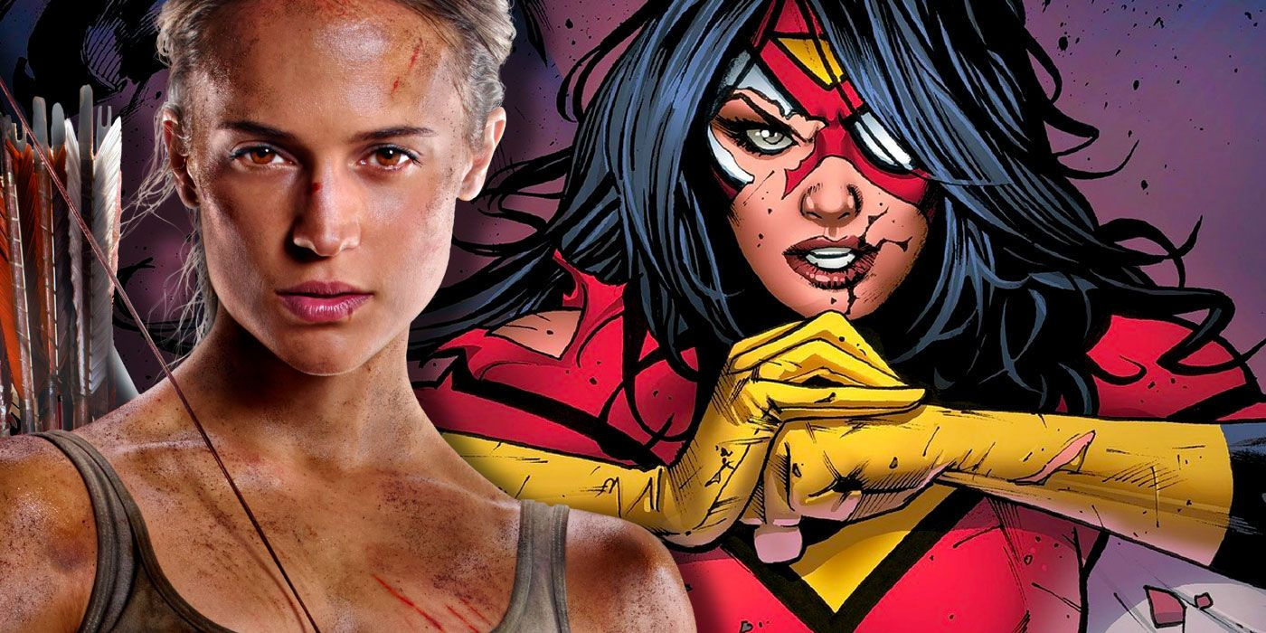 REPORT: Sony's Spider-Woman Eyes Tomb Raider Star, Game of Thrones Director