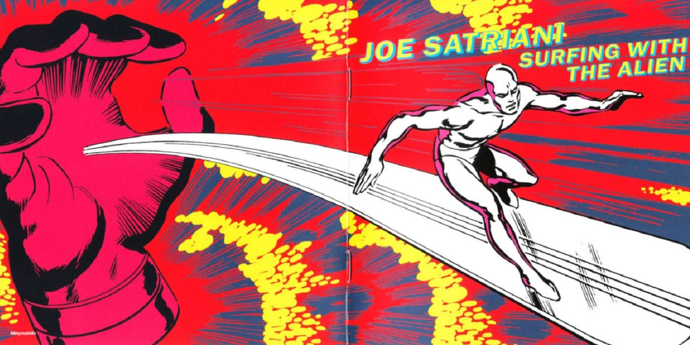 Did Marvel Make Joe Satriani Change the Cover for Surfing With the Alien?