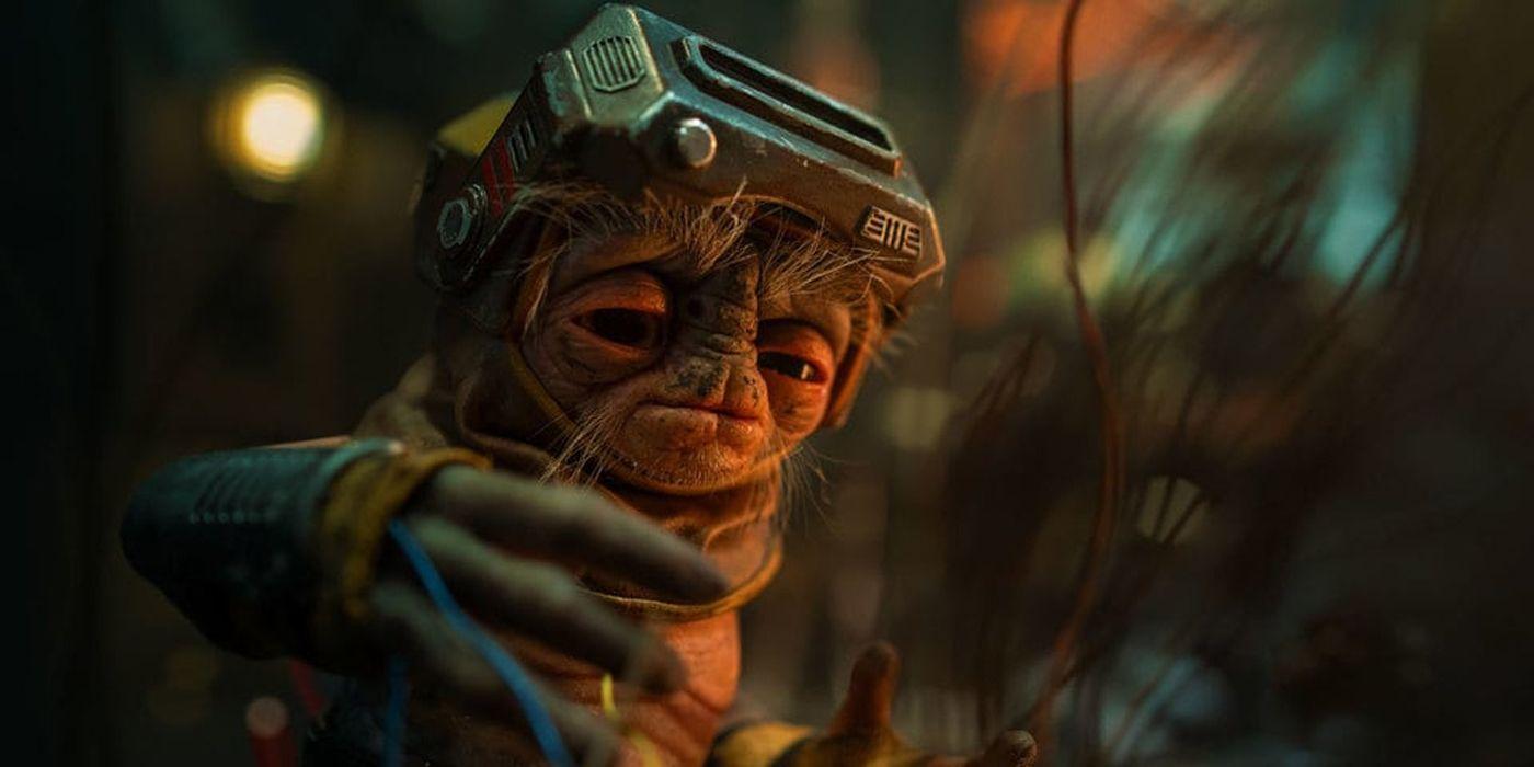 The Rise of Skywalker Puppeteer Reveals Who Inspired Babu Frik's Design