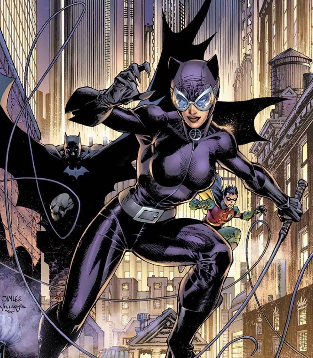 Catwoman 80th Anniversary #1 Jim Lee 2000/'s Variant Cover very fine condition