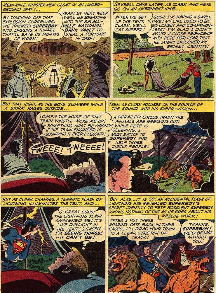 superboy 90 3 - Cuando Pete Ross descubrió la identidad secreta de Superman