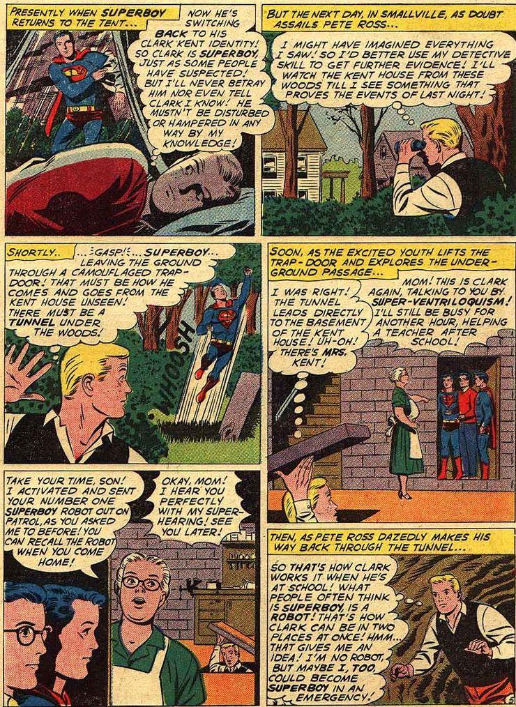 superboy 90 4 - Cuando Pete Ross descubrió la identidad secreta de Superman