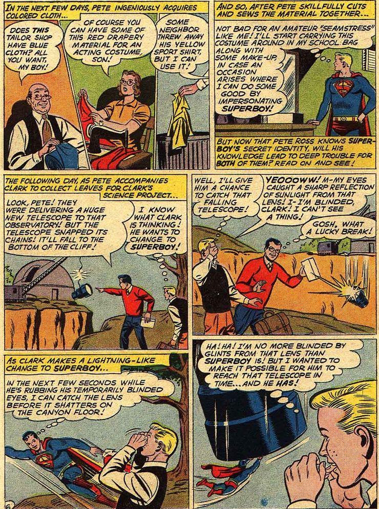 superboy 90 5 - Cuando Pete Ross descubrió la identidad secreta de Superman