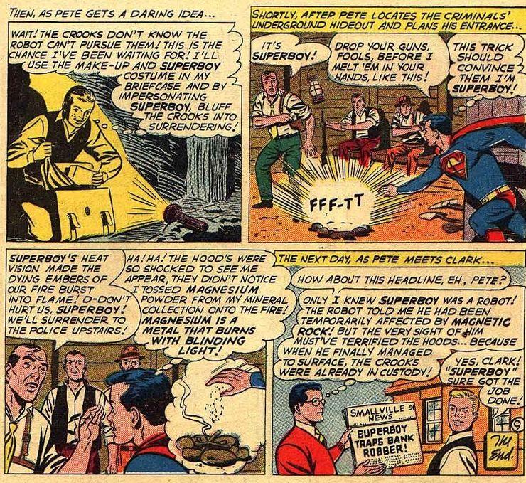 superboy 90 6 - Cuando Pete Ross descubrió la identidad secreta de Superman