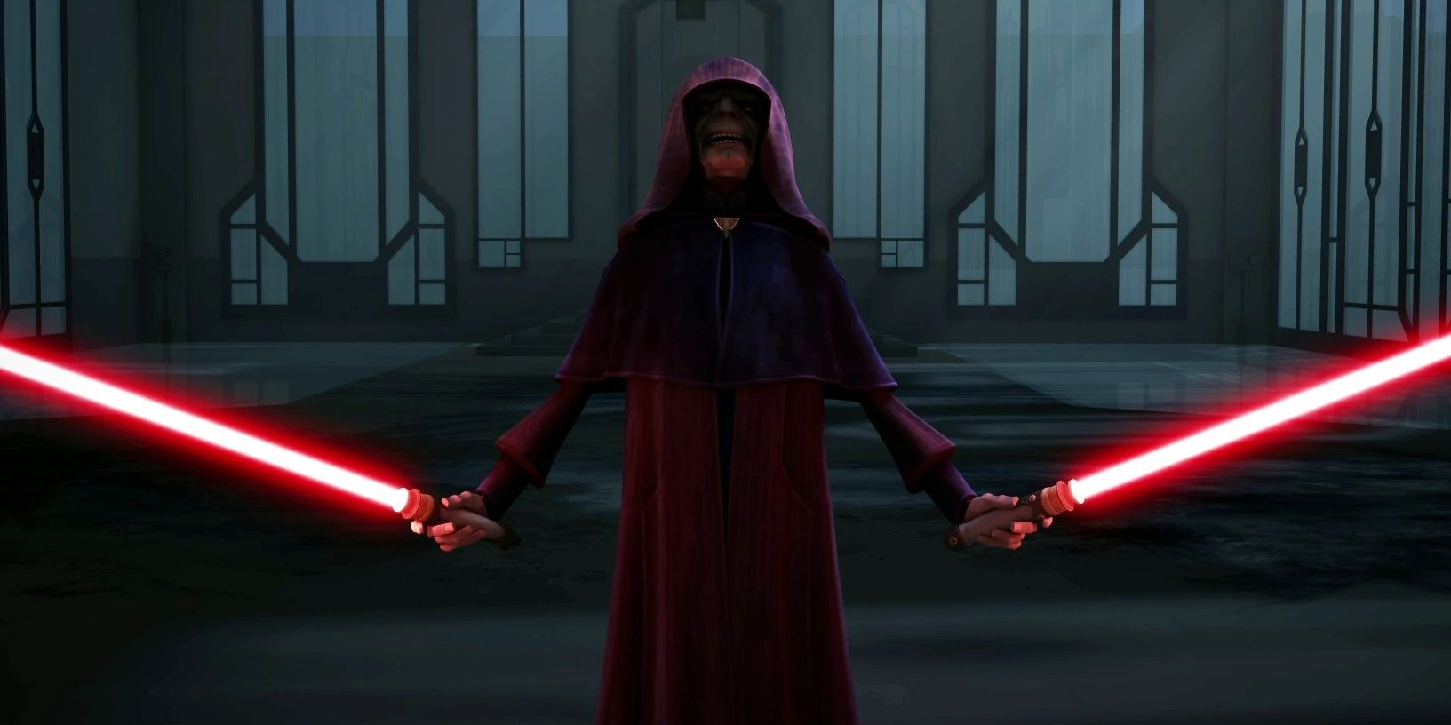 The Clone Wars' CRAZIEST Lightsaber Duel Took Place Between... Three Sith?