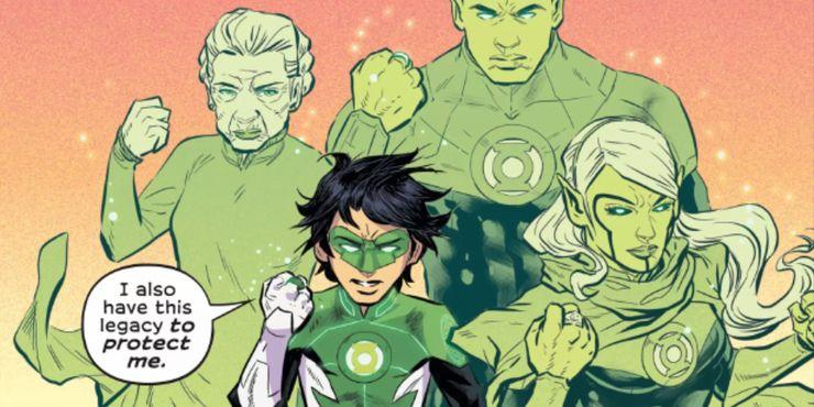 Green Lantern: Legacy Introduces... Green Lantern Force Ghosts?