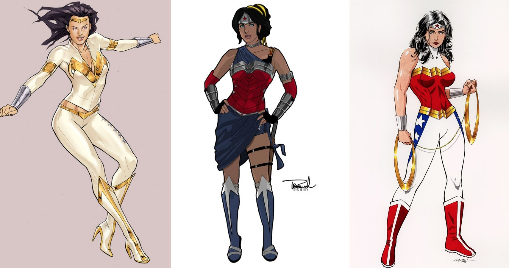 Dc 10 Fan Redesigned Wonder Woman Costumes That Are Better Than The Original