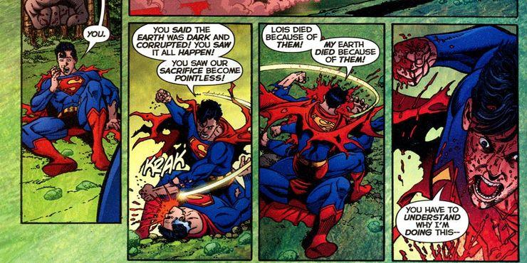 Death Of Earth 2 Superman Cropped - Las 10 mejores muertes de Superman