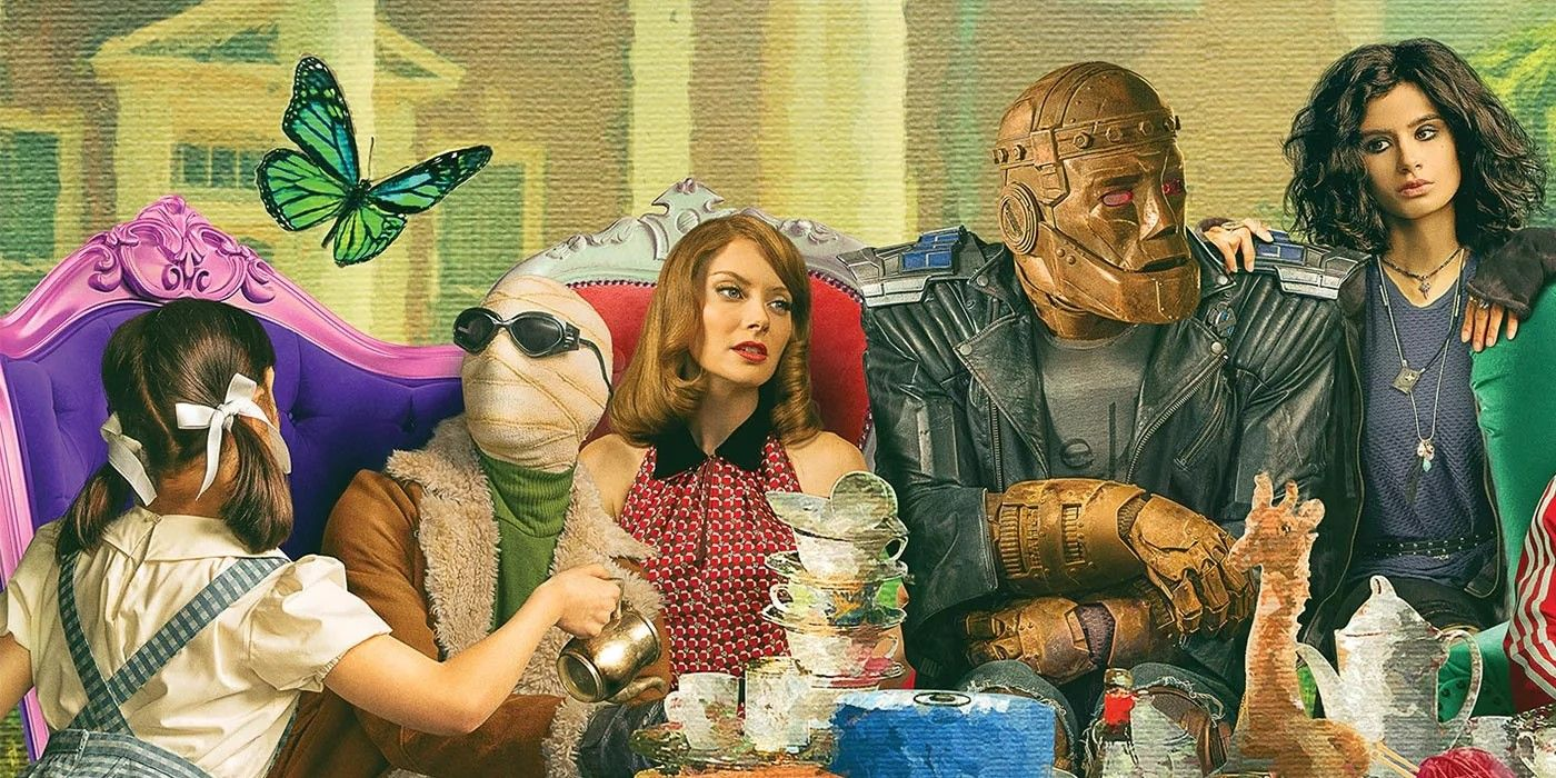 Doom Patrol Photos Properly Introduce A Comics Accurate Teammate