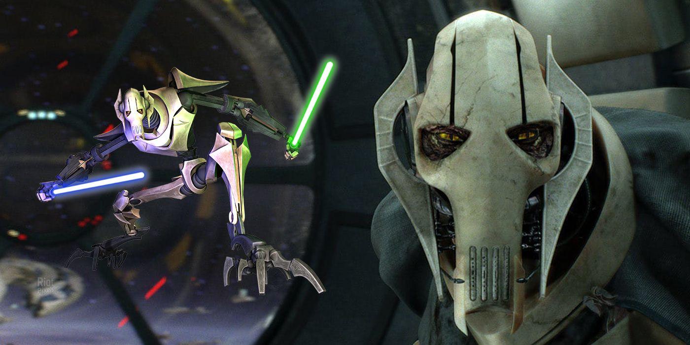Star Wars  General Grievous U0026 39  Jedi Lightsaber Obsession